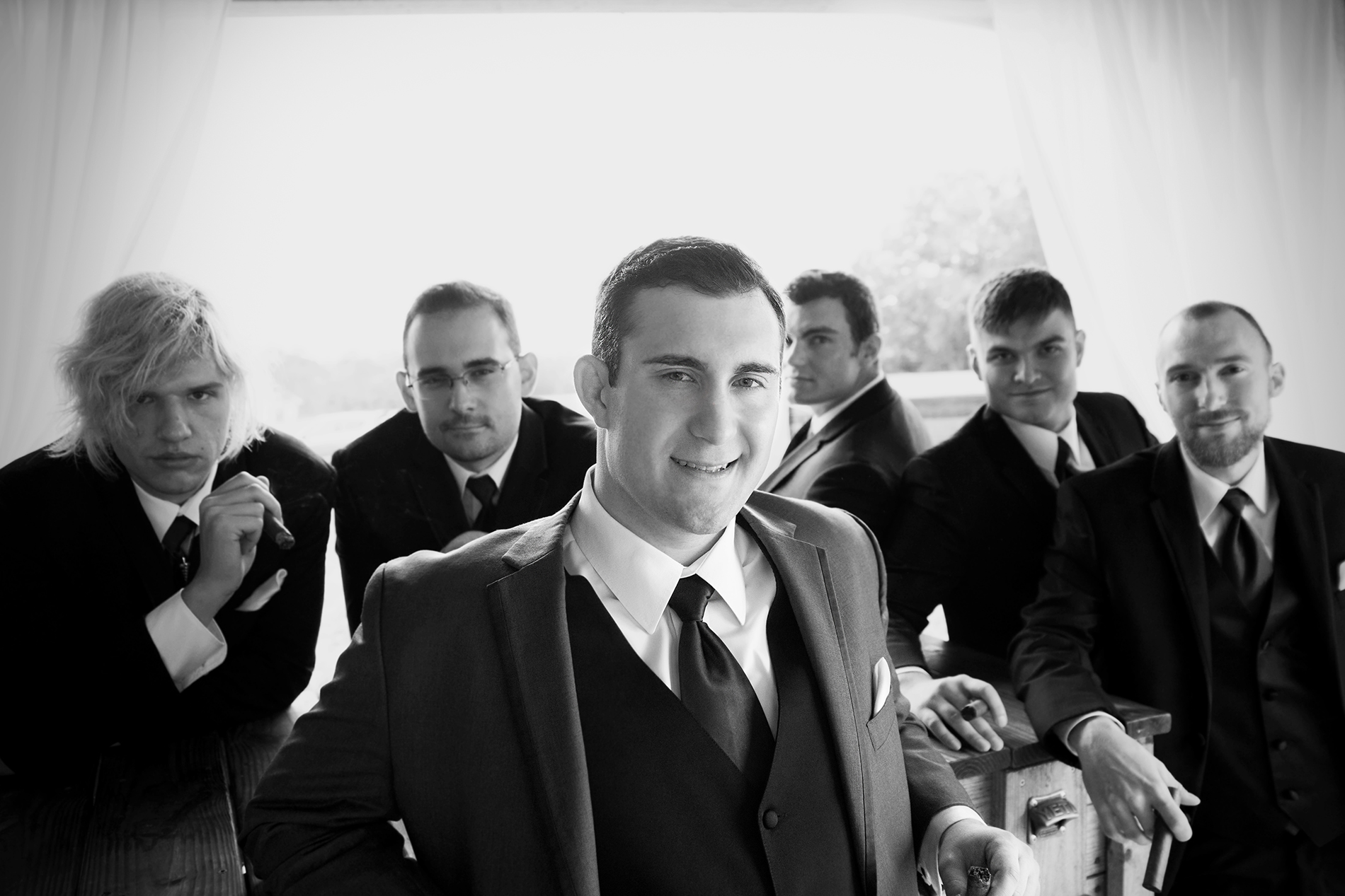 Mt. Pleasant Groom and Groomsmen